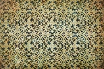 Vintage azulejos, traditional Portuguese tiles