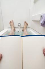 Blank Book Or Magazine For Bathtub Reading