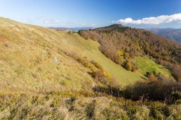 Sommets des Vosges en automne