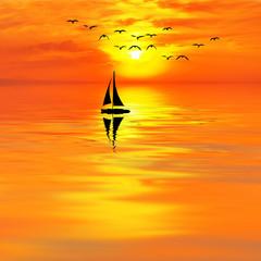 el barco que esperaba al sol