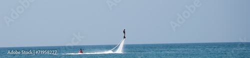 Canvas Water Motorsp. Flyboard