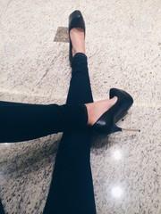 long lady's legs