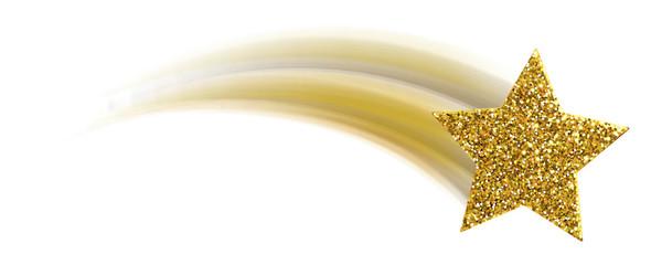 Sternschnuppe - Glitter