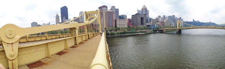 Panorama von Pittsburgh, Pennsylvania