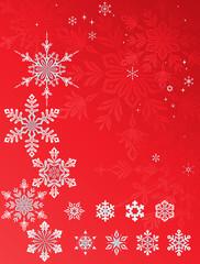 Snowflakes Stars Set