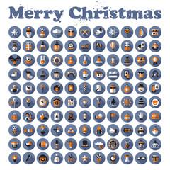 Merry Christmas. Vector format