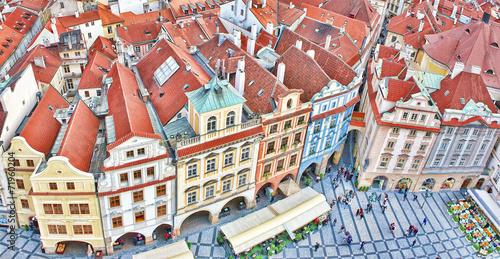 Staande foto Praag Widok na stare miasto Praga,Czechy.