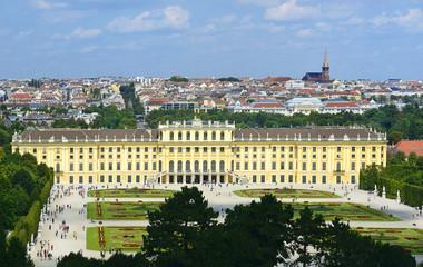 Schonbrunn Palace is UNESCO WH Site, Austria