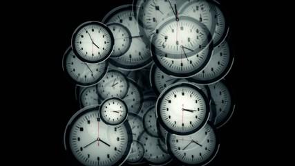 Many Clocks Timelapse