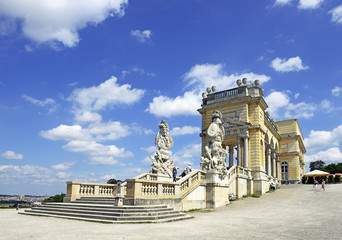 Glorietee building at Schonbrunn Palace, Austria