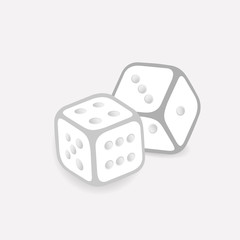 Two Dice Cubes.