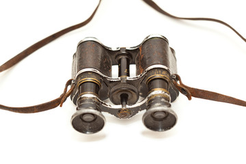 Old German military binoculars