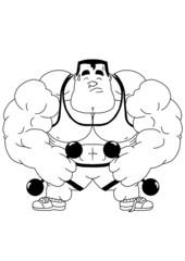 funny bodybuilder training