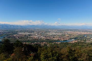 Torino e le Alpi piamontesi - Panorama
