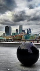 The city behind the sphere