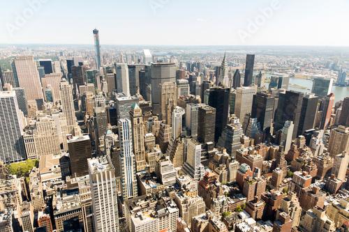 Foto op Aluminium New York urban skyscrapers new york city