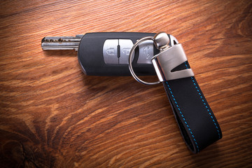 Car keys composing gun shape