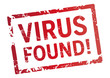 Roter Stempel Virus found