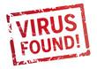 Roter Stempel Virus found