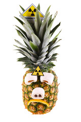 Traurige Ananas