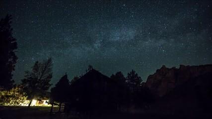 Smith Rocks MilkyWay Stars 555