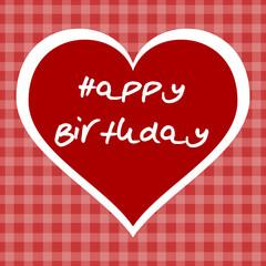 herz happy birthday I