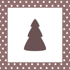 karte weihnachtsbaum IV