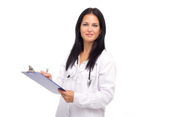 Médica Confiante e Simpatica