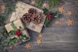 Christmas vintage presents - 71970829