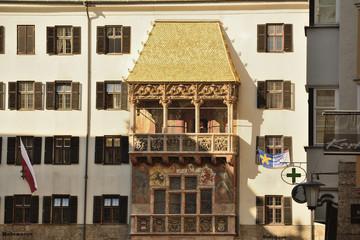 Das Wahrzeichen von Innsbruck - Goldenes Dachl