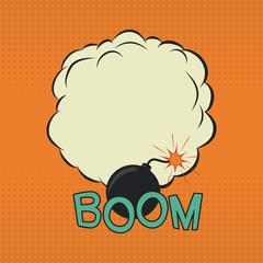 Boom. Comic speech bubble.