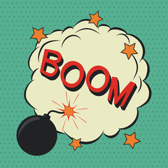 Boom. Comic speech bubble.