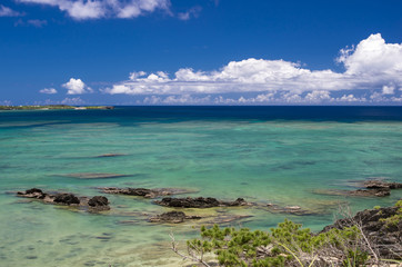 沖縄 恩納村の海岸