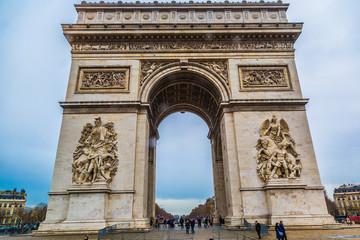 Arc de Triomphe (Paris, France).