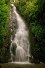 Simangande falls on Samosir island, Sumatra, Indonesia