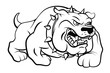 Bull Dog Vector Illustration - 71976431