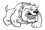 Bull Dog Vector Illustration - 71976431