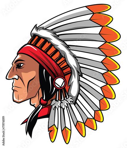Apache Head - 71976899