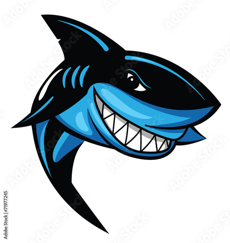 Fototapeta Shark Vector Illustration