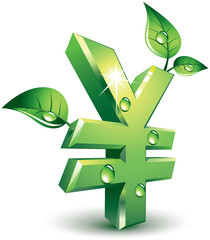 Flourishing yen