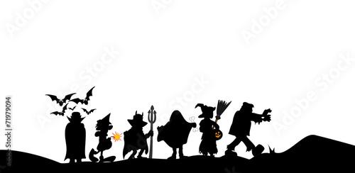 halloween walk - 71979094