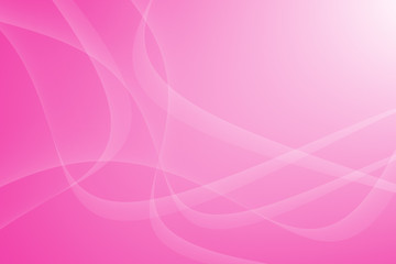 pink Light Wave Abstract Background