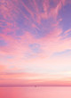 Bright Colorful Sunrise On The Sea With Beautiful Clouds - 71983420