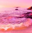Ocean Coast Backdrop - 71984239