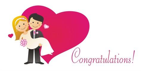 Vivan los novios - Congratulations!