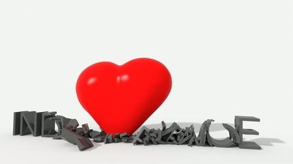 Indifferenza colpita da love