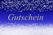 canvas print picture - Gutschein