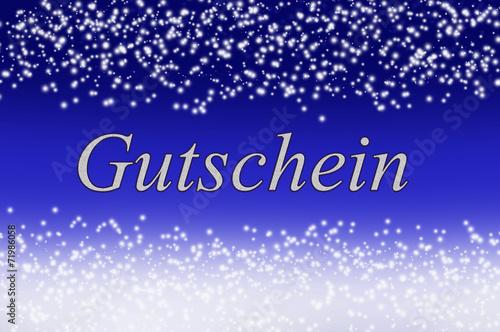 canvas print picture Gutschein