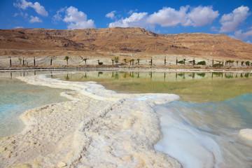 Israeli coast of the Dead Sea