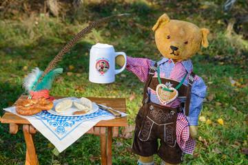 Teddy Oktoberfest Querformat